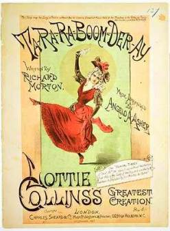 1891-Ta Ra Ra Boom Der Ay-Lottie Collins-sheet-1(sm)-s2