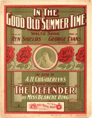 1902-InTheGoodOldSummerTime-sheet-BlancheRing