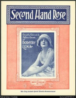 Second+Hand+Rose+music+sheet