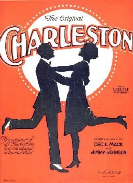 1923-The Charleston-m. James P. Johnson, w. Cecil Mack-1-d40