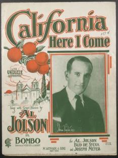 1924-CalifHereICome-Jolson-Bombo