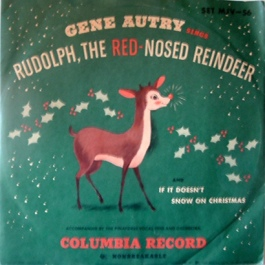 1949 Rudolph, the Red-Nosed Reindeer-Gene Autry-Columbia MJV-56
