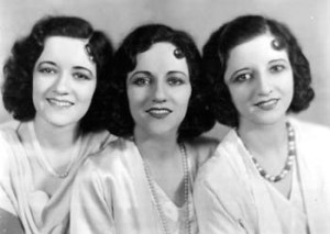 Boswell Sisters: selected recordings of 1931