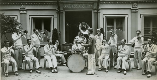 Waring's-Pennsylvanians-in Paris-Ambassadeurs-1928