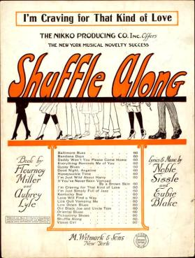 I'm Craving For that Kind of Love (Sissle & Blake) sheet music, 1921 (1a)