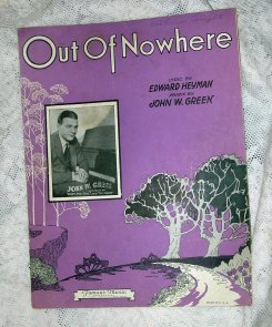 1931-Out of Nowhere-(Green, Heyman)-1a