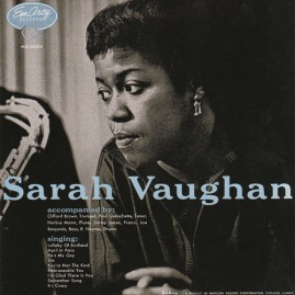 1954 Sarah Vaughan LP, EmArcy MG-36004