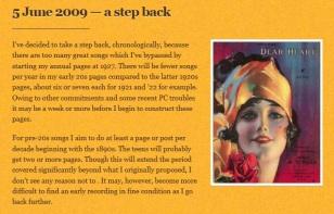 5 June 2009-a step back