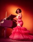 Dorothy Dandridge-53-mermaid gown_Zelda Wynn Valdes with tiered ruffle skirt-red-2