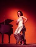 Dorothy Dandridge_53_white dress_piano_candle_1