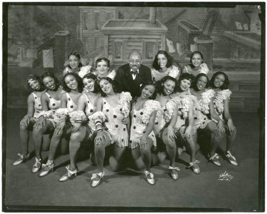 Eubie Blake and Shuffle Along (1933) chorus girls
