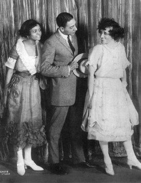 Florence Mills, Roger Matthews and Lottie Gee in Shuffle Along, from the Robert Kimball archives