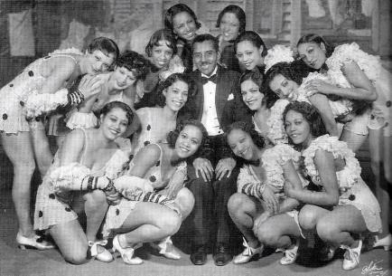 Noble Sissle and Shuffle Along (1933) chorus girls