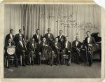 Shuffle Along Orchestra, 1921, inscribed by Eubie Blake to Roy Smith & his Band (1)