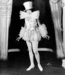 Valaida Snow, 1924, in costume for Sissle and Blake production 'In Bamville'-inscribed (1a)