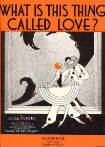 1929 What Is This Thing Called Love, from Wake Up and Dream, Cole Porter-1a (sm)