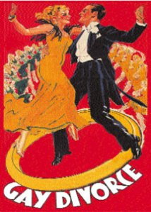 1932 Gay Divorce, Cole Porter-poster 1