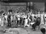 1933-42nd Street-Dick Powell-Ruby Keeler and cast inrehearsal-1-f27