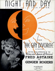 1934 Night and Day sheet, Gay Divorcee