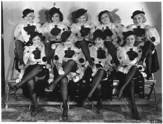 42nd Street-polkadots, Ruby Keeler and Toby Wing (bottom left)-1-f15