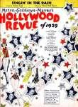 hollywood revue 1929-singin-intherain-sheet-1