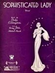 Sophisticated Lady sheet music –vocal