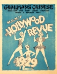The Hollywood Revue of 1929 Herald_Grauman's Chinese Theatre_1_d20