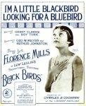 1926_I'm a Little Blackbird_Florence Mills_sheet_1