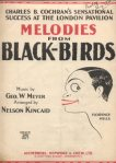 1926_Melodies from Blackbirds_1
