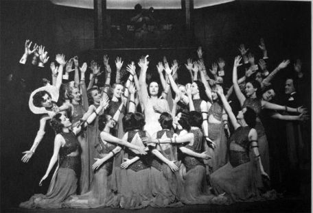 Anything Goes ensemble, undated, possibly from the original 1934-1935 production