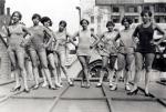 Blackbirds of 1926 – chorus rehearses on roof of the London Pavilion(1)