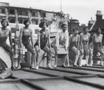 Blackbirds of 1926 – Florence Mills and chorus rehearse, 1 Sep 1926, on roof of the London Pavilion(2)
