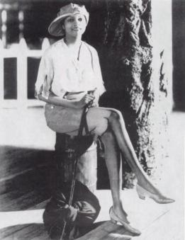 Florence Mills as plantation boy in Plantation Revue, 1923-1a