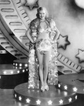 Ginger Rogers in coin cape costume, Gold Diggers of 1933
