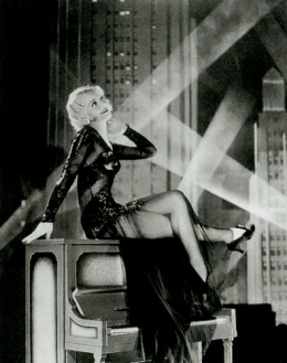 Gold Diggers of 1933-Ginger Rogers, spotlights-1a