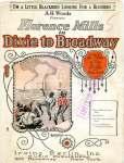 I'm a Little Blackbird Looking For a Bluebird sheet (Florence Mills, Dixie to Broadway), 1924