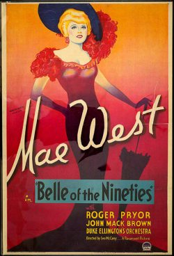 Mae West-Belle of the Nineties (1934)-poster 1a