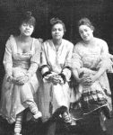 The Panama Trio, 1916: Cora Green, Florence Mills, and Bricktop