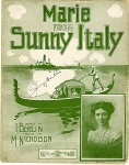 1907-Berlin-Marie from Sunny Italy-music M. Nicholson-1