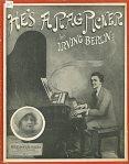 1914-Berlin-He's a Ragpicker-Sophie Tucker-inset
