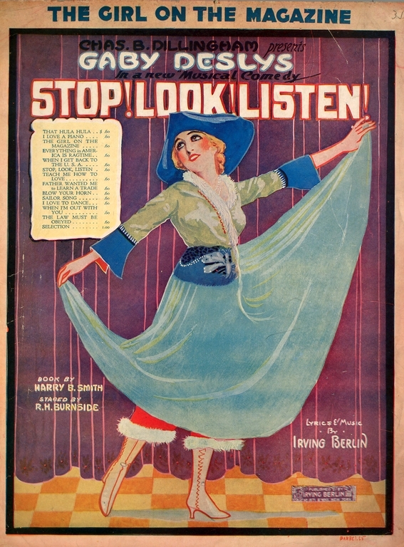 The Girl On The Magazine 1915 Songbook