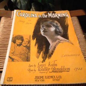 1922 Carolina in the Morning-feat. Frawley & Louise-1