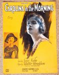 1922 Carolina in the Morning-feat. Marion Weeks