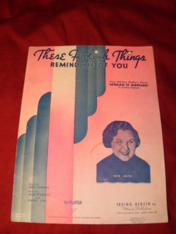 1936 These Foolish Things-Kate Smith inset