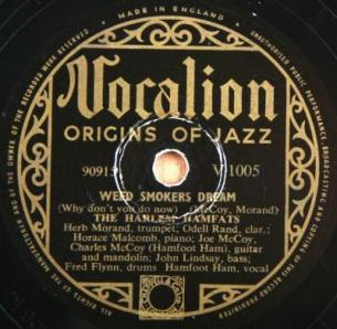 1936 Weed Smokers Dream-Harlem Hamfats-Vocalion V.1005