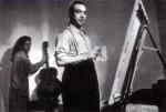 Django (painting) with Sonia Dimitrivitch, New York, 1946