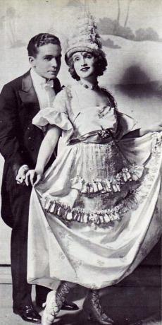 Gaby Delys and Joseph Santley, Stop! Look! Listen!, 1915