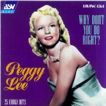 Peggy Lee-25 Early Hits (Living Era)-1a