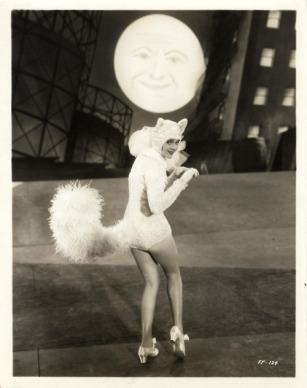 Ruby Keeler-Sitting On a Backyard Fence number, Footlight Parade (1933)