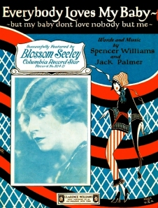1924 Everybody Loves My Baby-sheet-feat. Blossom Seeley-1a